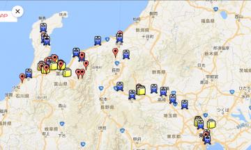 WordPressの投稿と位置情報を紐づけて、Google Map上に分布図っぽいものを表示させることもできます