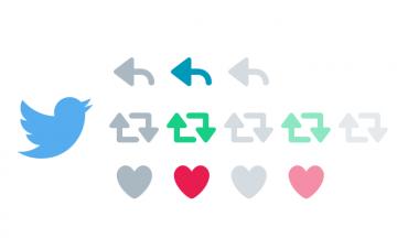 Twitterのアクション(返信・リツイート・いいね)ボタンのSVGデータがあります